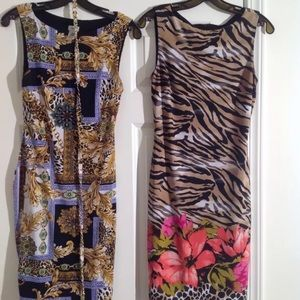 Two beautiful Cache' dresses for one price!